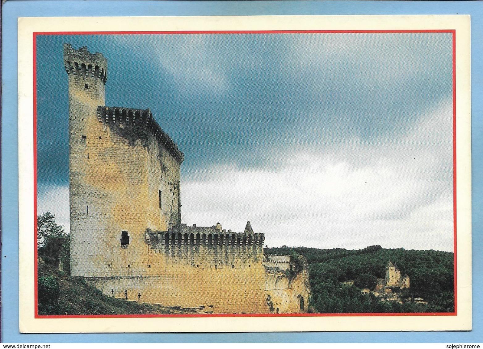 Marquay (24) Château De Commarque Et Au Fond Le Château De Laussel 2 Scans - France