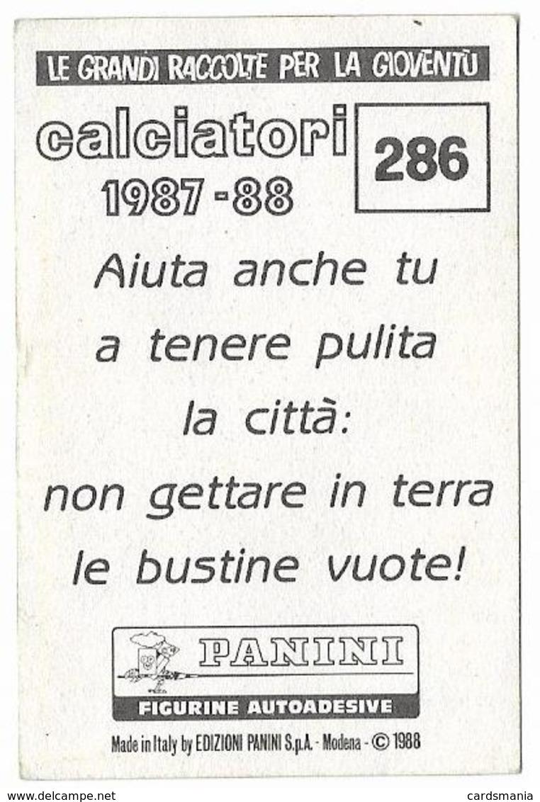 SCUDETTO VERONA PANINI 1987/88 N° 286 Con Velina - Edizione Italiana