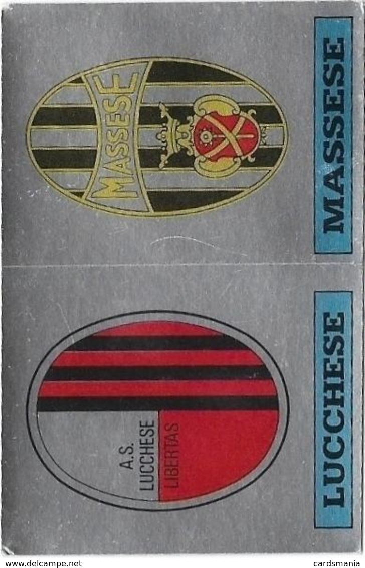 SCUDETTO LUCCHESE-MASSESE PANINI 1985/86 N° 589 Con Velina - Panini