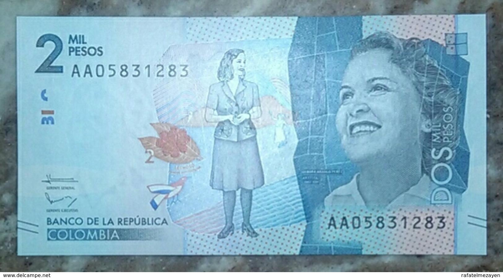 Colombia 2000 Pesos UNC - Colombie
