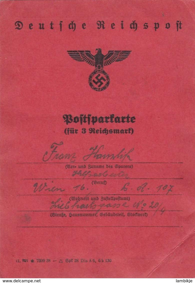 Deutsches Reich Dokument 1938 - Briefe U. Dokumente