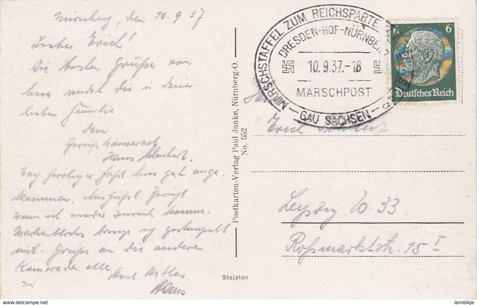 Deutsches Reich Propaganda Postkarte 1937 - Deutschland
