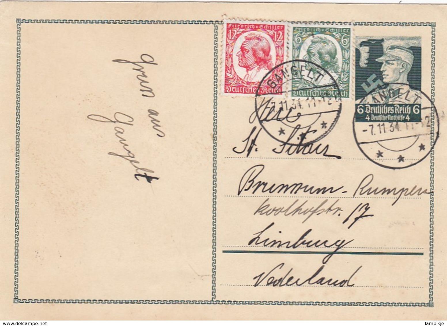 Deutsches Reich Postkarte P253 1934 - Briefe U. Dokumente