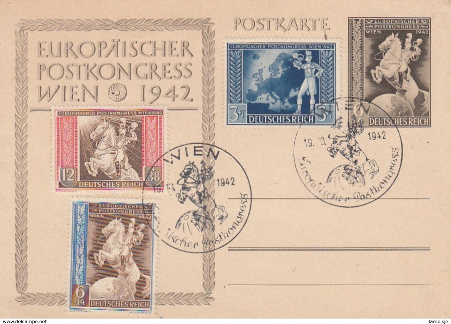 Deutsches Reich Postkarte P294 1942 - Briefe U. Dokumente