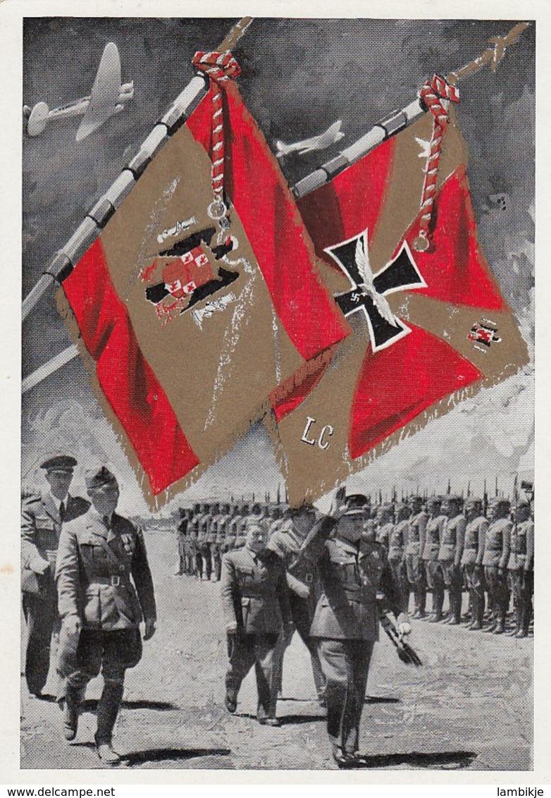 Deutsches Reich Postkarte Propaganda 1939 - Briefe U. Dokumente