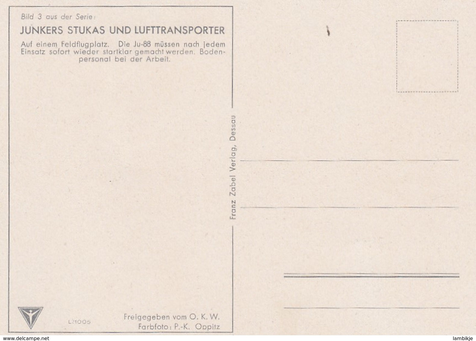 Deutsches Reich Postkarte Propaganda 1940 Junkers Stukas Und Lufttransporter - Briefe U. Dokumente