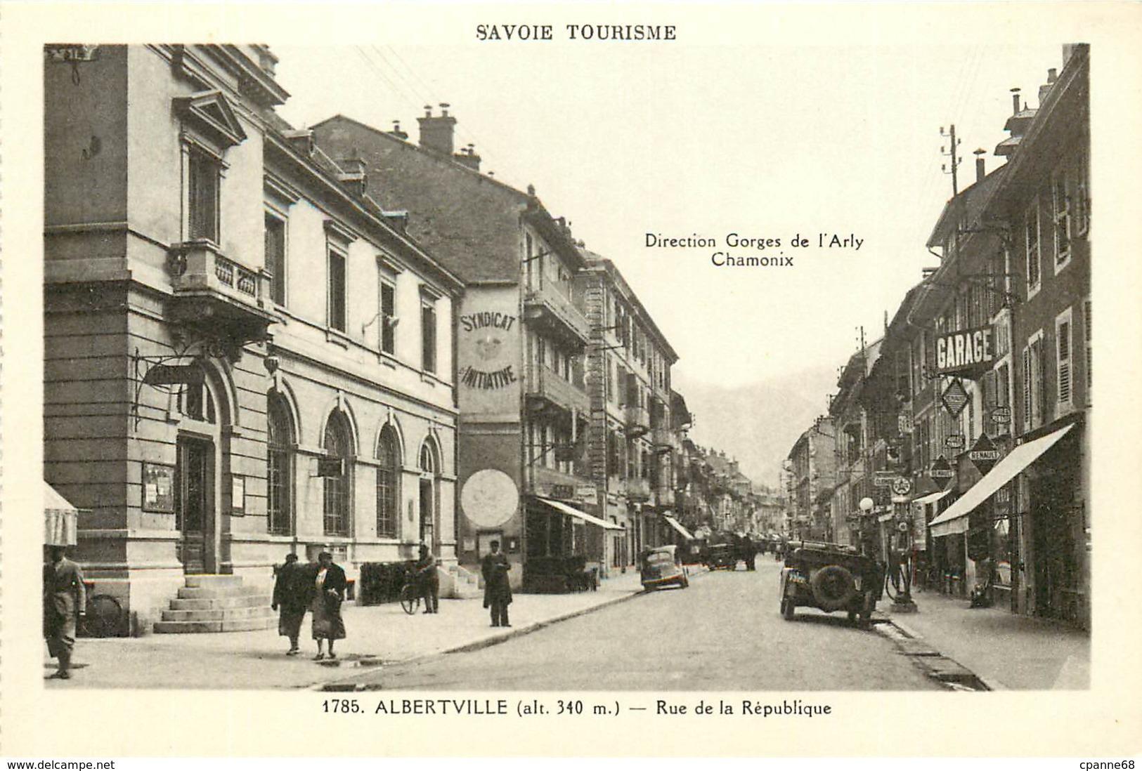 Albertville - Rue De La République - Albertville