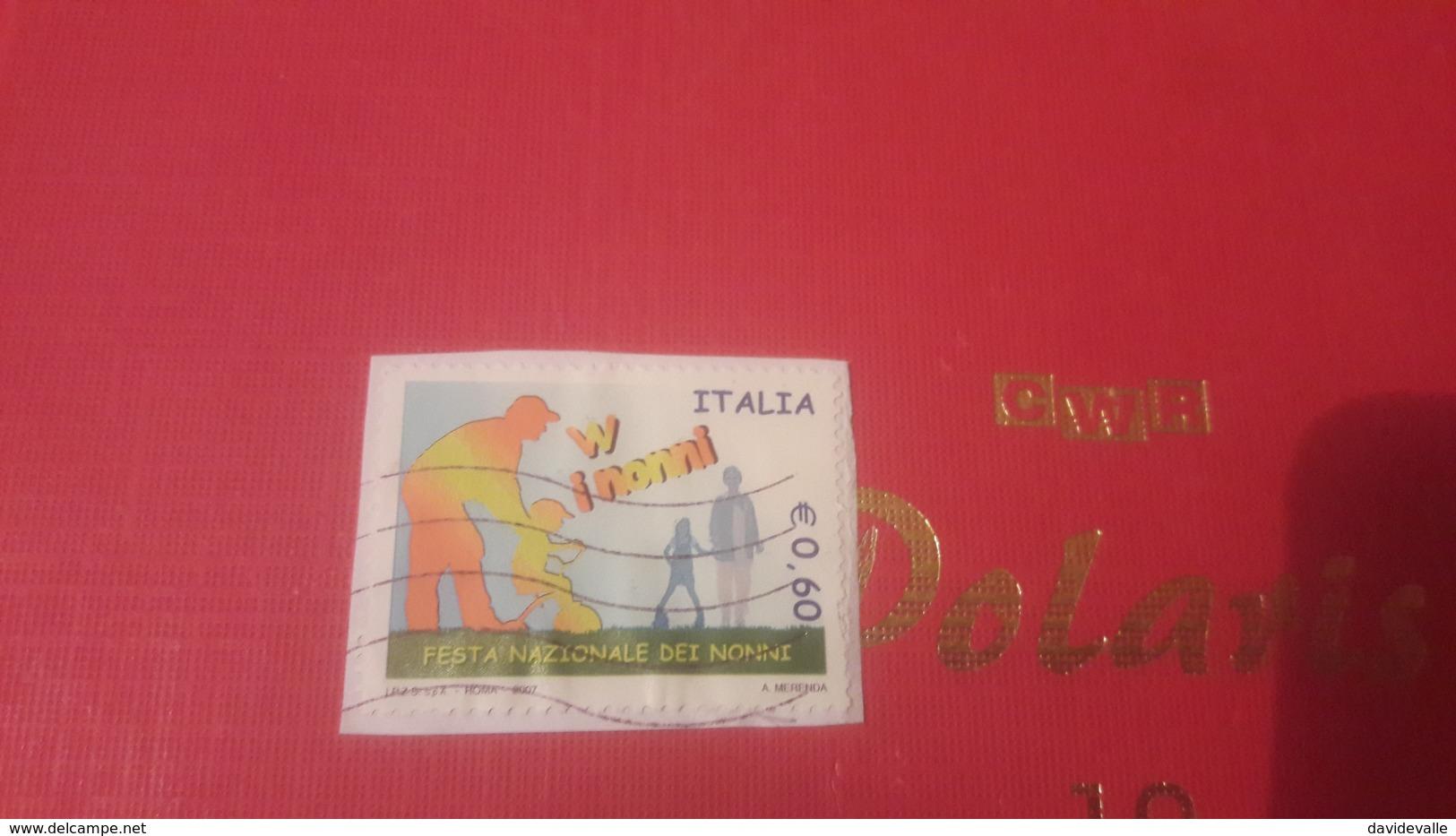 2007 Festa Nazionale Dei Nonni - 6. 1946-.. Repubblica