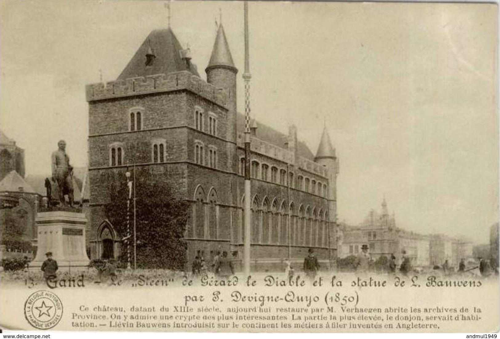 GAND-GENT - Château De Gérard Le Diable - Gent