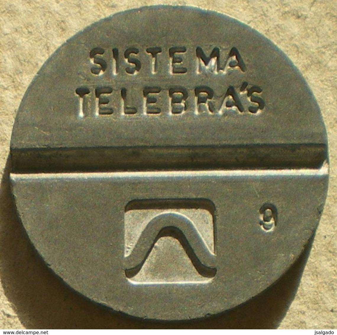 Brasil Telephone Token  1982 LOCAL Artol  Logo 9 - Noodgeld