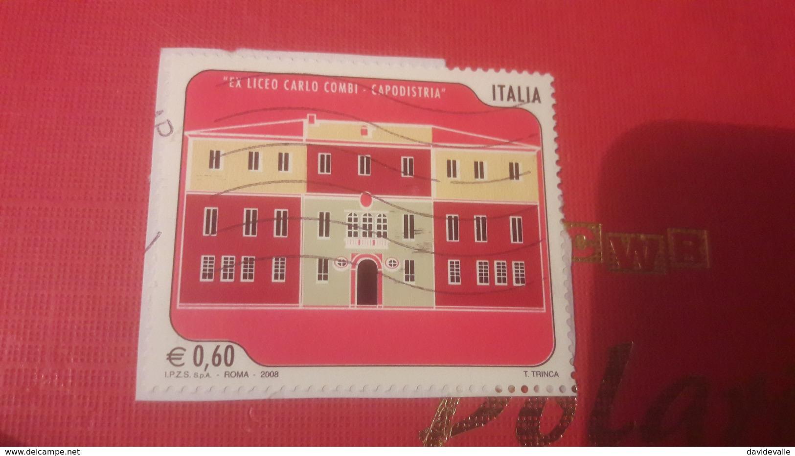 2008 Scuole D' Italia Liceo Combi - 6. 1946-.. Repubblica