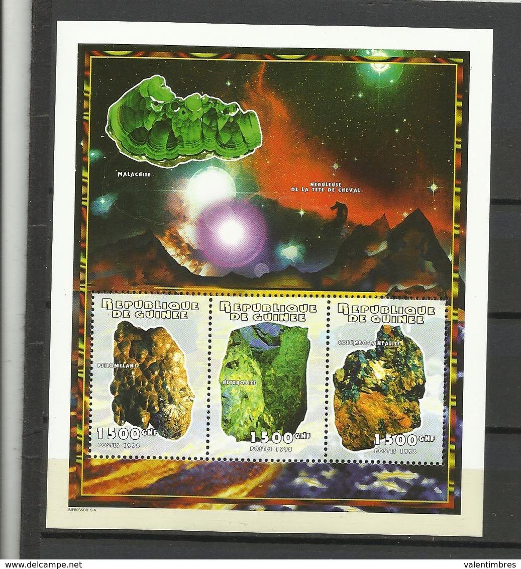 Guinée YT**   BF 139 Minéraux - Mineralen
