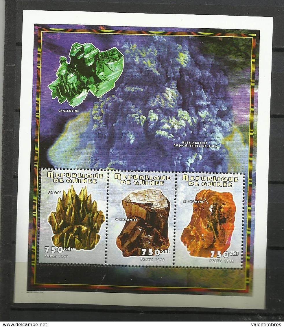 Guinée YT**   BF 141 Minéraux - Mineralen