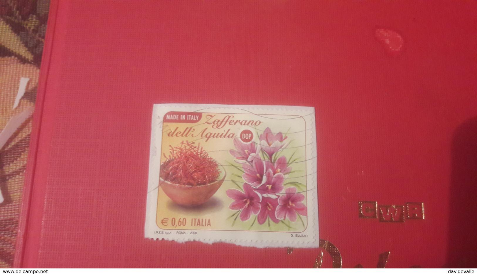 2008 Made In Italy Lo Zafferano Dell' Aquila DOP - 6. 1946-.. Repubblica