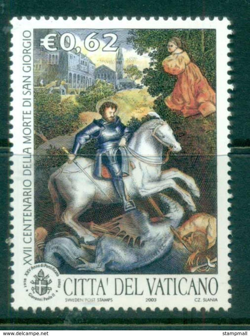 Vatican 2003 Martyrdom Of St George MUH - Ongebruikt