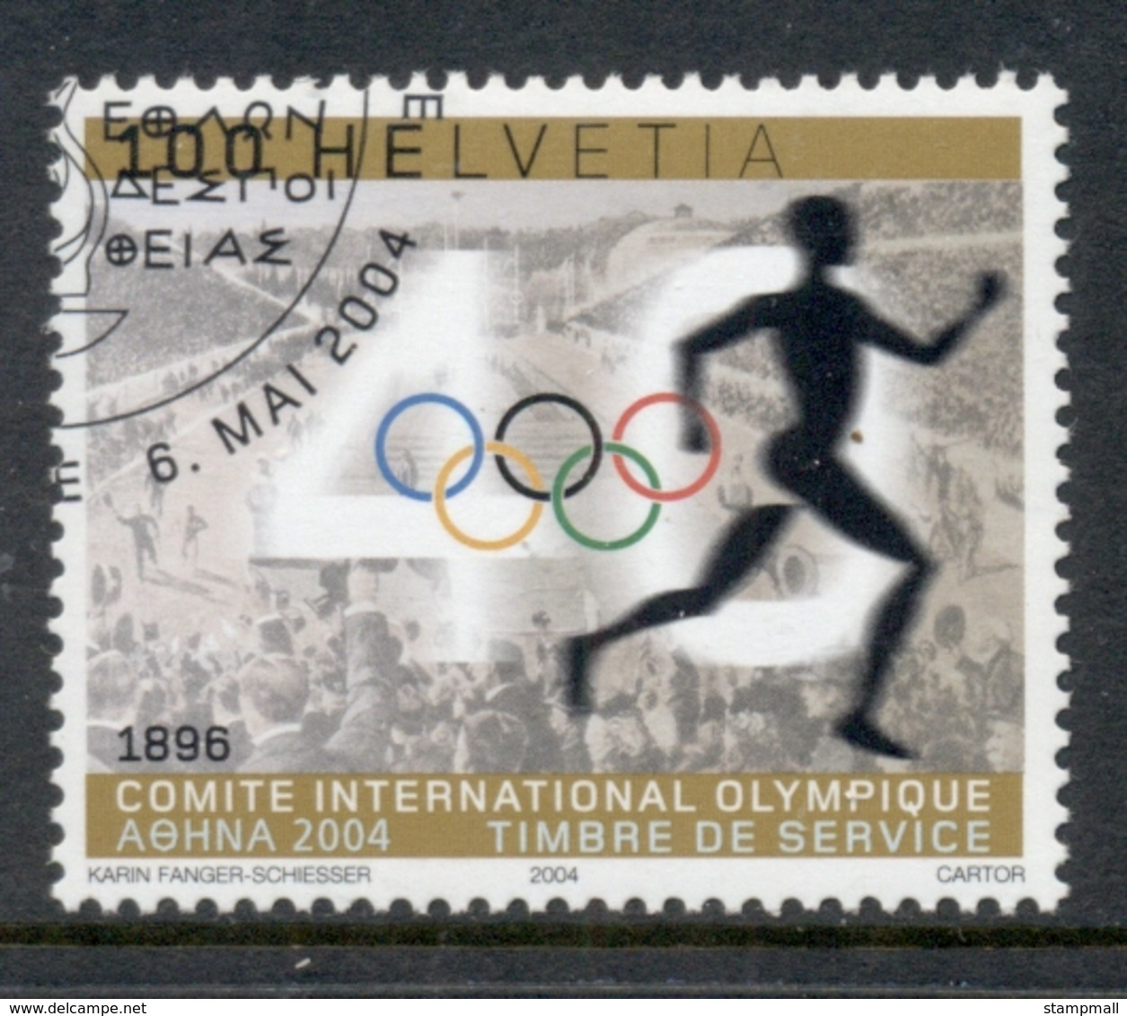 Switzerland 2004 Olympic Committee CTO - Zwitserland