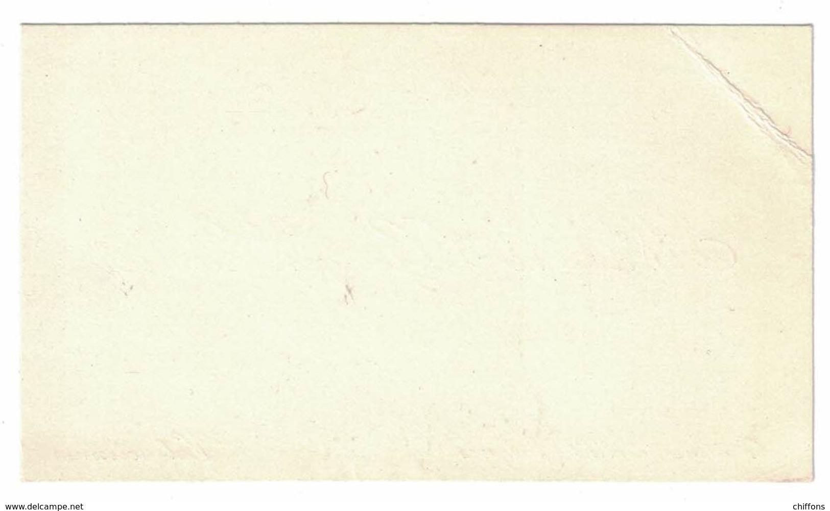 Mr & Mme GEORGES CARLIER 4 RUE SAINT-JACQUES VALENCIENNES - Cartes De Visite