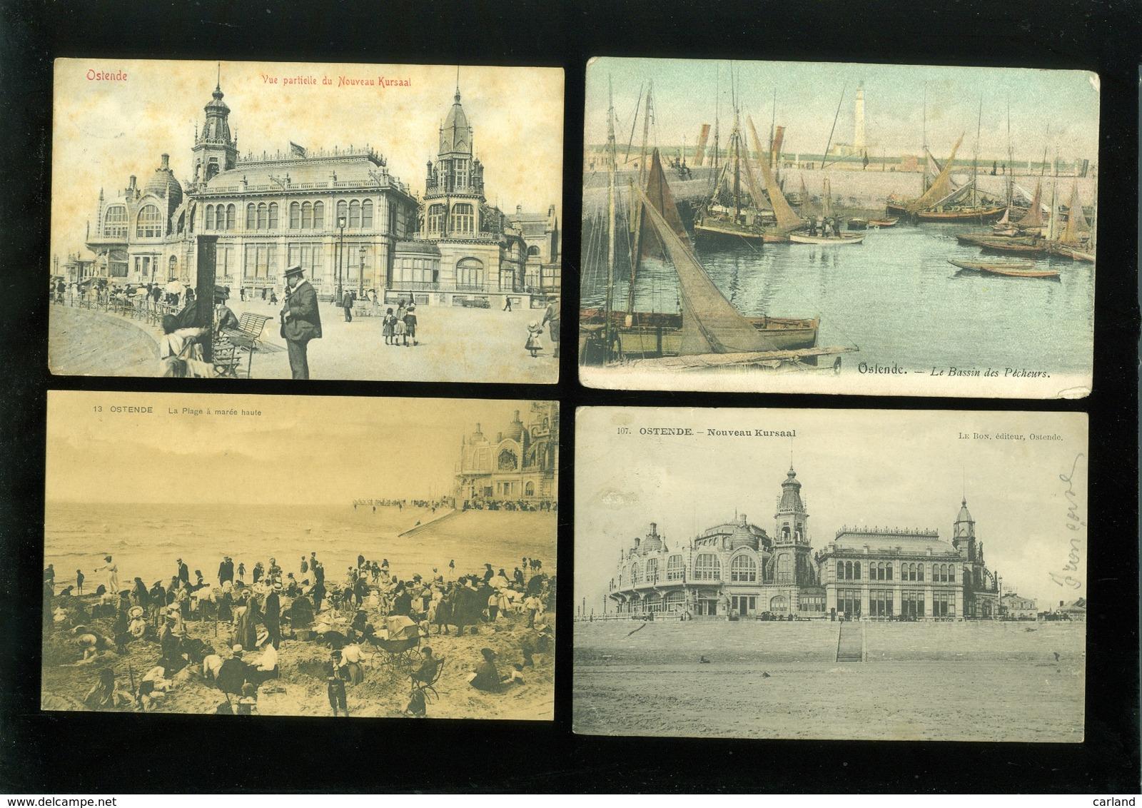 Beau Lot De 60 Cartes Postales De Belgique  Ostende  Mooi Lot Van 60 Postkaarten Van Oostende - 60 Scans - Cartes Postales