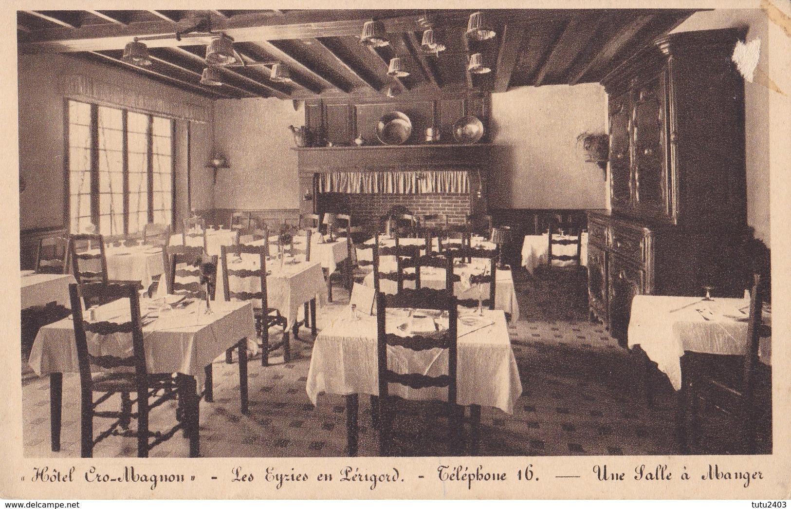 LES EYZIES                                    Hotel Cro Magnon - France