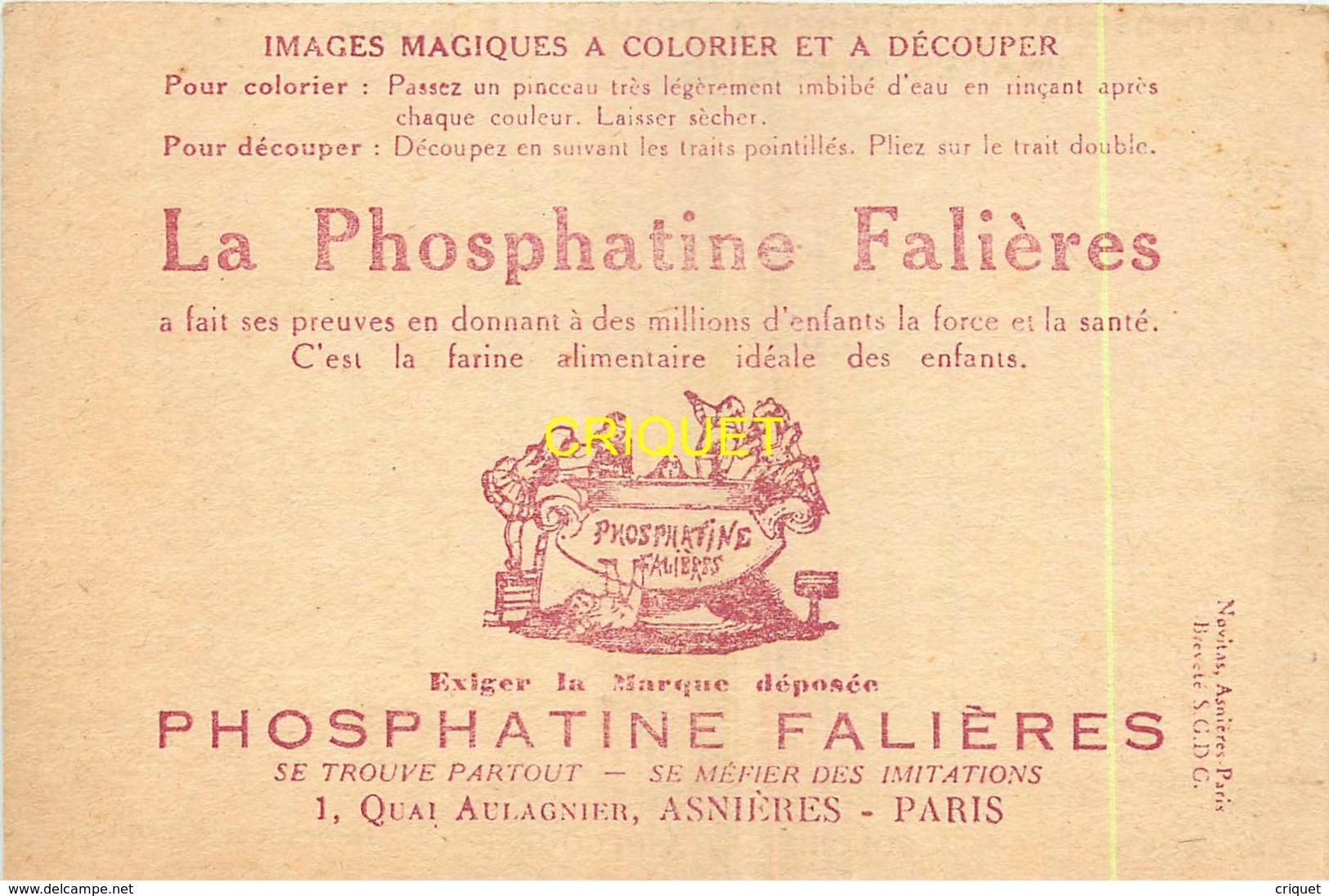 Image Phosphatine à Colorier Et Découper, Le Japon ( Image Non Coloriée ) - Vieux Papiers