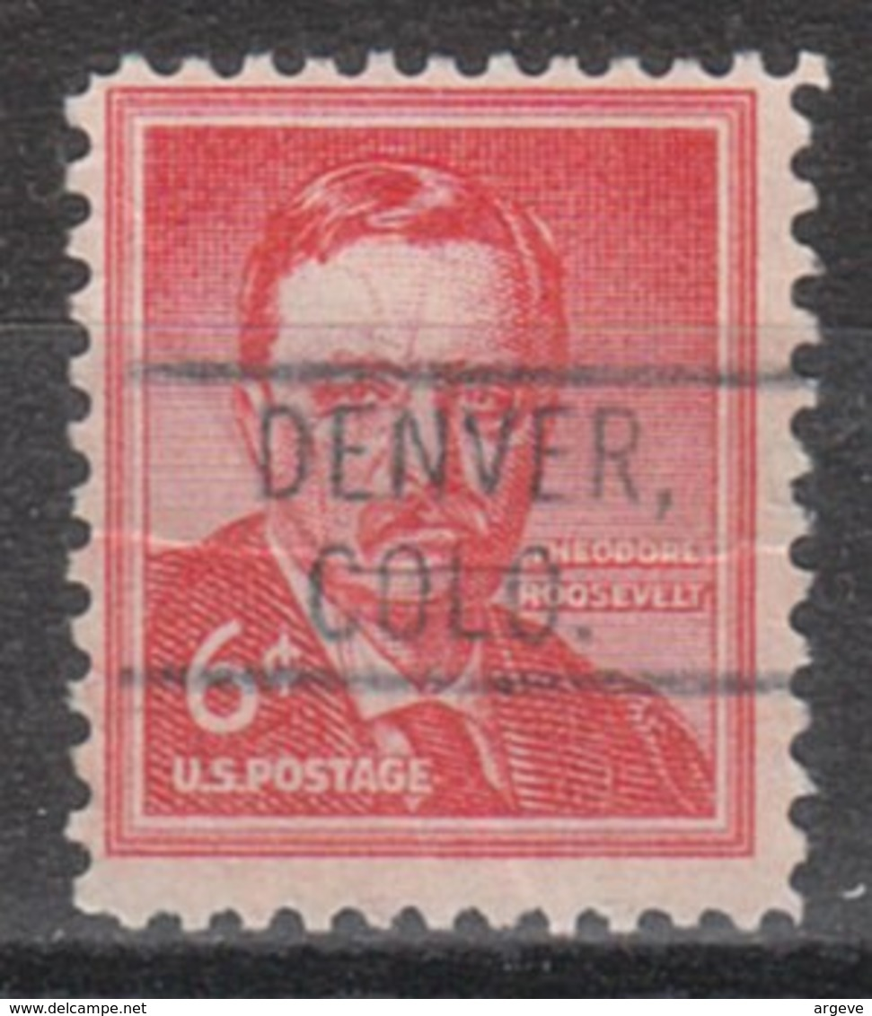USA Precancel Vorausentwertung Preo, Locals Colorado, Denver 802 - Vereinigte Staaten