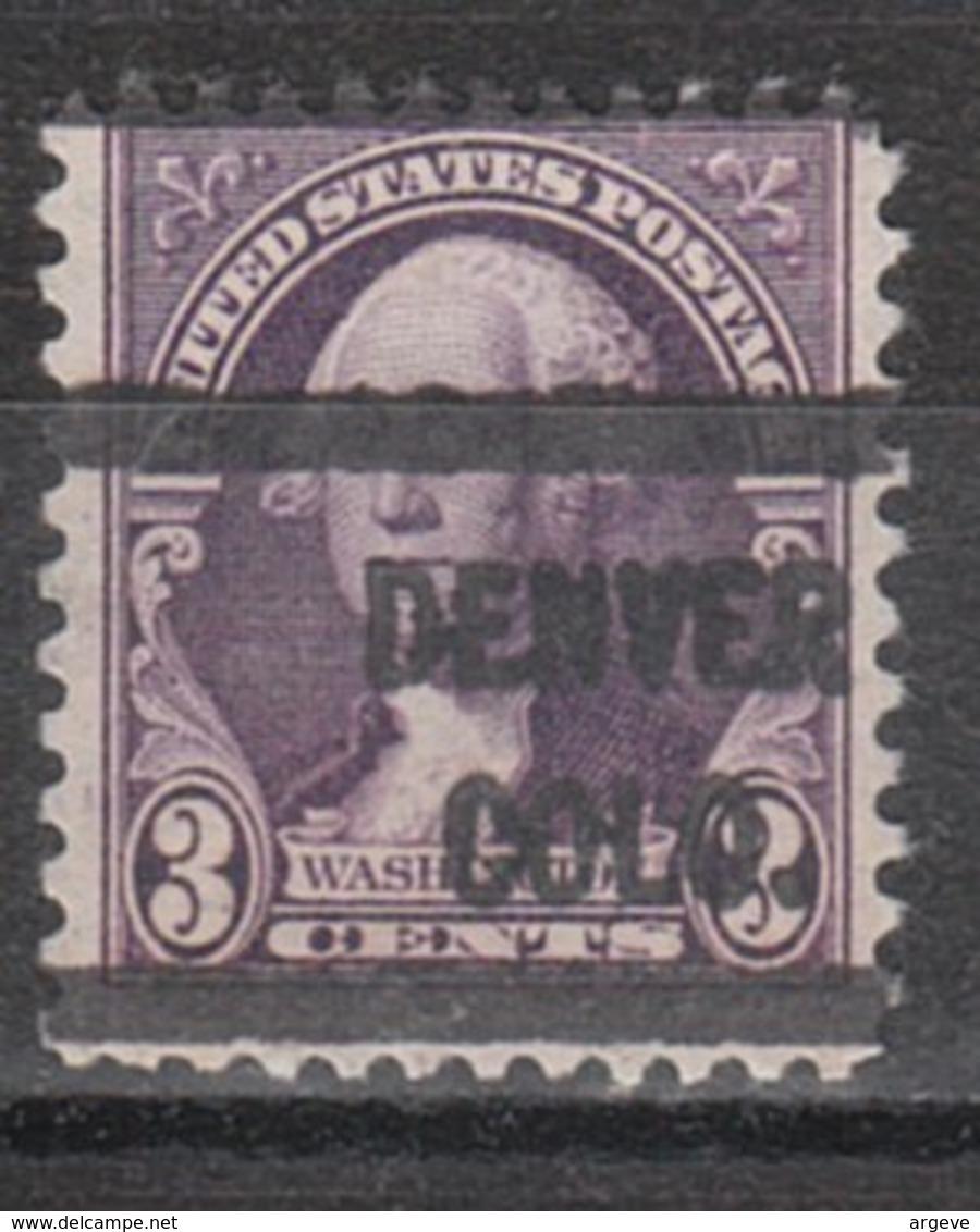 USA Precancel Vorausentwertung Preo, Locals Colorado, Denver 720-L-6 HS - Vereinigte Staaten