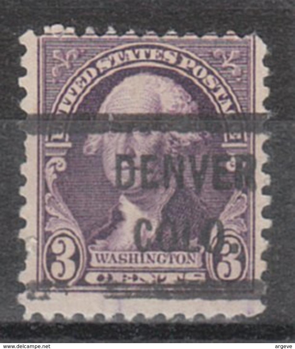 USA Precancel Vorausentwertung Preo, Locals Colorado, Denver 720-L-7 HS - Vereinigte Staaten