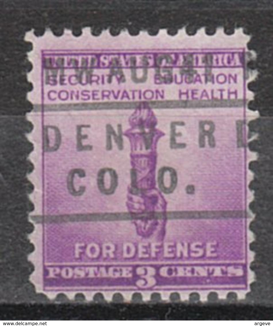 USA Precancel Vorausentwertung Preo, Locals Colorado, Denver L-10 IHS - Vereinigte Staaten
