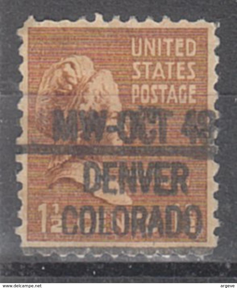 USA Precancel Vorausentwertung Preo, Locals Colorado, Denver L-11 IHS - Vereinigte Staaten