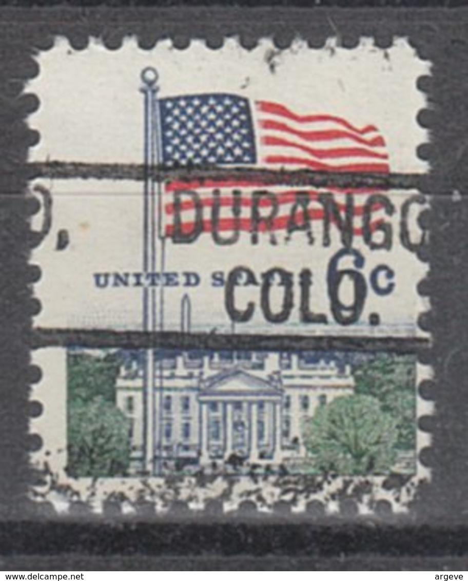 USA Precancel Vorausentwertung Preo, Locals Colorado, Durango 802 - Vereinigte Staaten