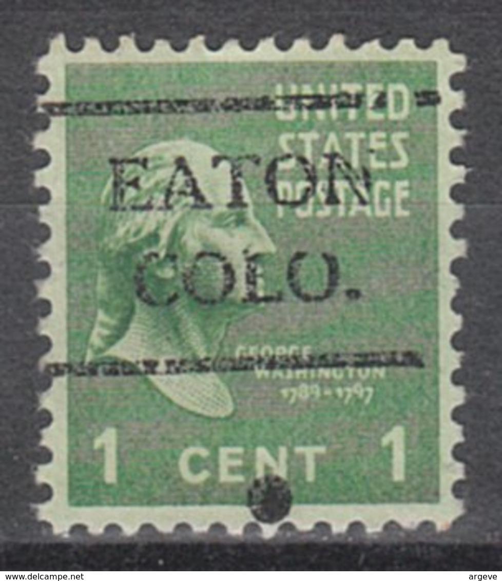 USA Precancel Vorausentwertung Preo, Locals Colorado, Eaton 716 - Vereinigte Staaten
