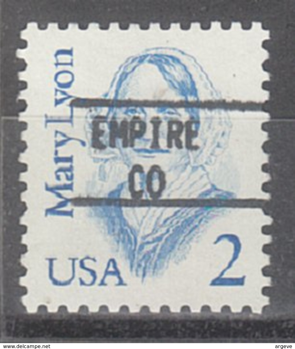 USA Precancel Vorausentwertung Preo, Locals Colorado, Empire 895 - Vereinigte Staaten