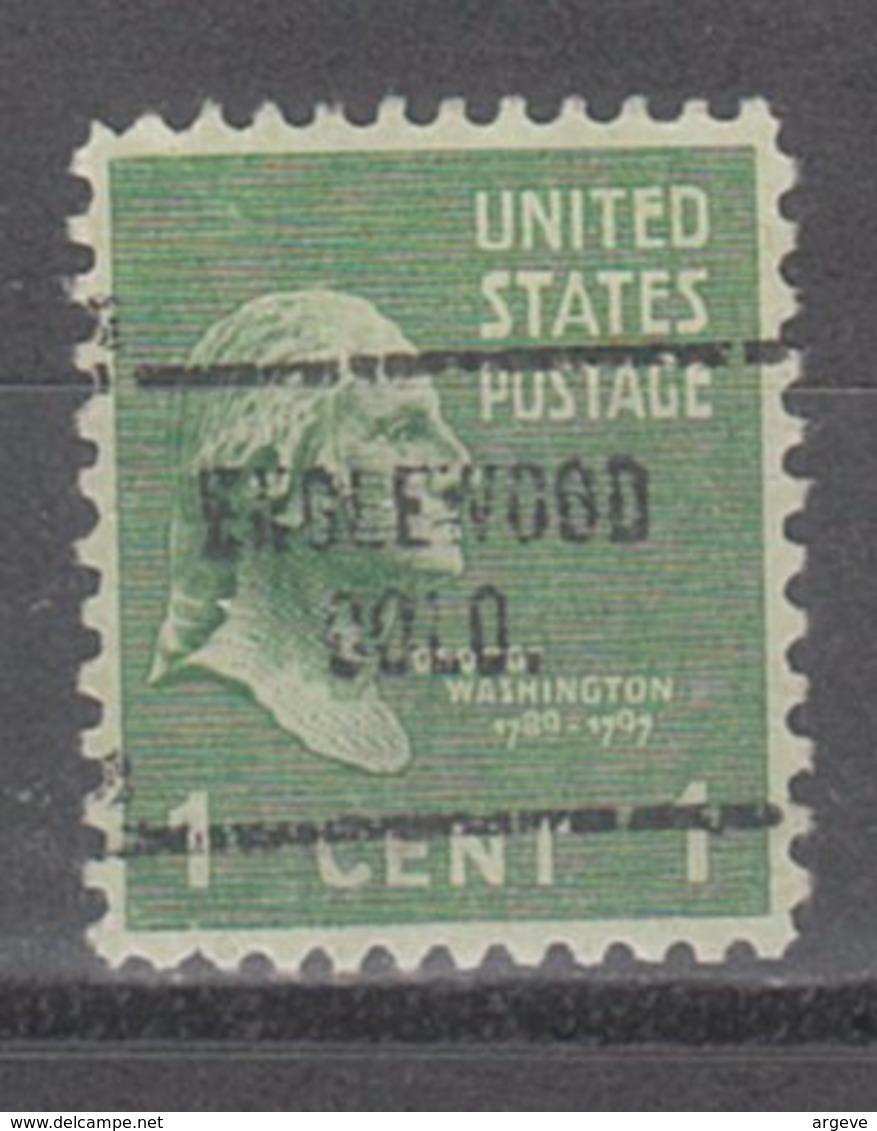 USA Precancel Vorausentwertung Preo, Locals Colorado, Englewood 704 - Vereinigte Staaten