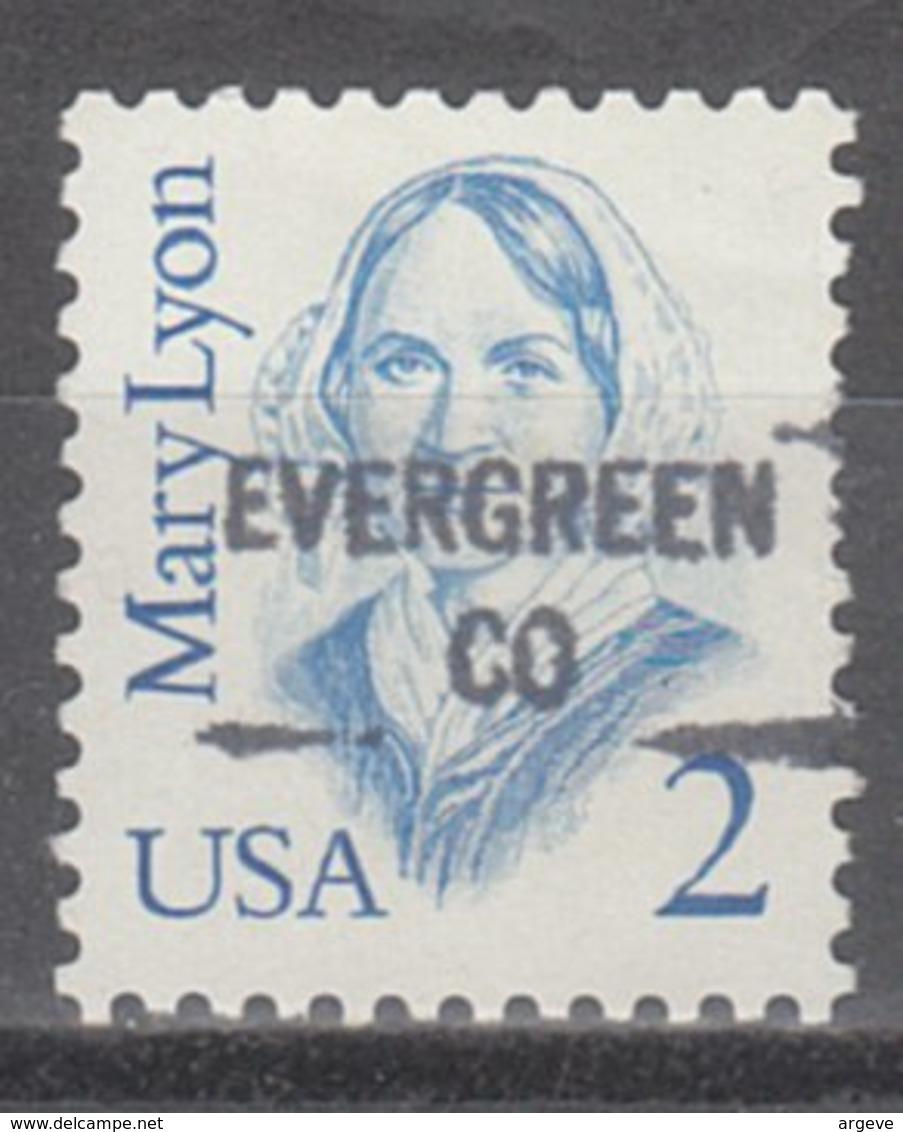 USA Precancel Vorausentwertung Preo, Locals Colorado, Evergreen 841 - Vereinigte Staaten