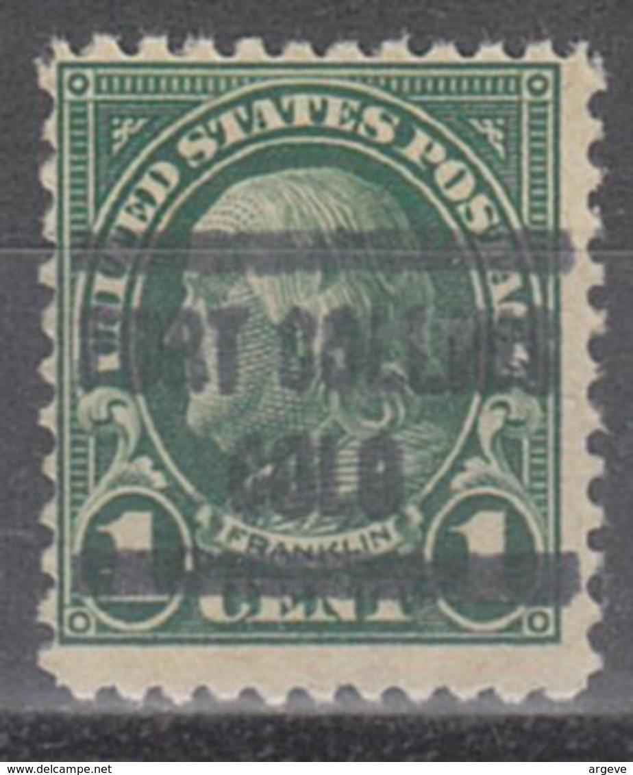 USA Precancel Vorausentwertung Preo, Locals Colorado, Fort Collins 552-577 - Vereinigte Staaten