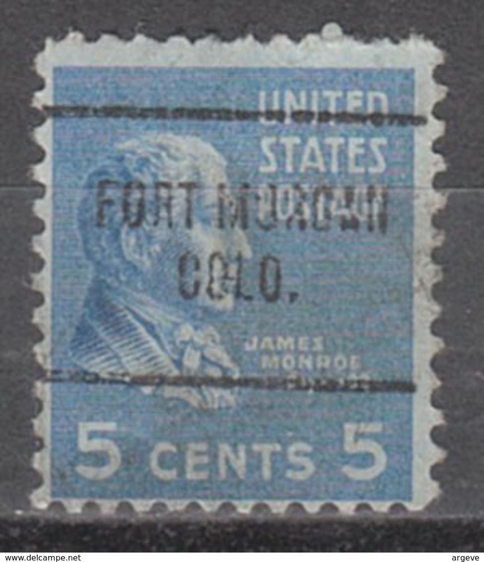 USA Precancel Vorausentwertung Preo, Locals Colorado, Fort Morgan 704 - Vereinigte Staaten