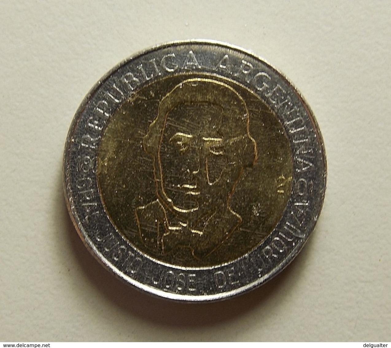 Argentina 1 Peso 2001 Varnished - Argentine