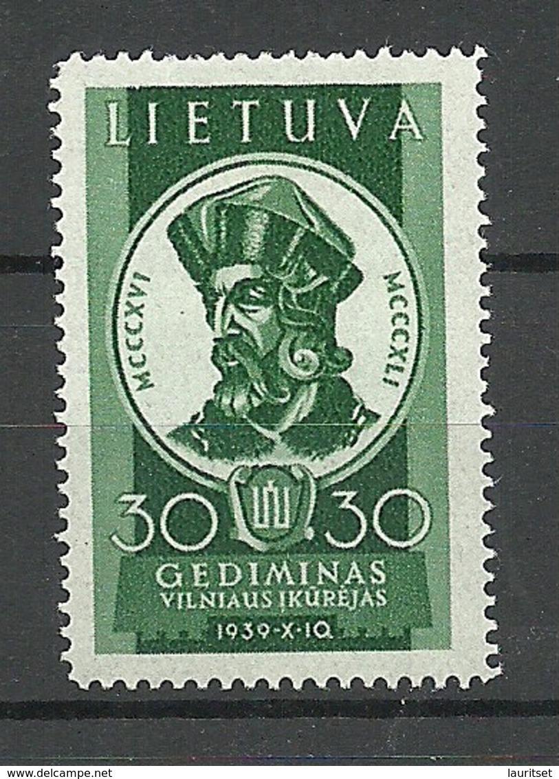 LITAUEN Lithuania 1940 Michel 144 * - Lituanie