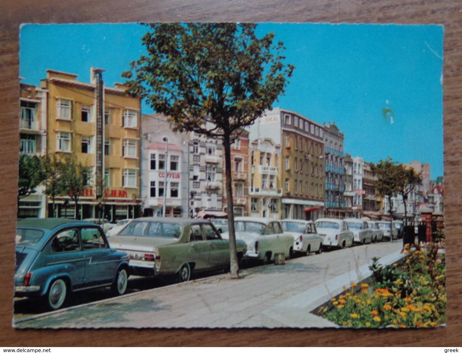 Auto, Voiture, Car / Blankenberge / Descampstraat En De Roozlaan -> Beschreven - Blankenberge