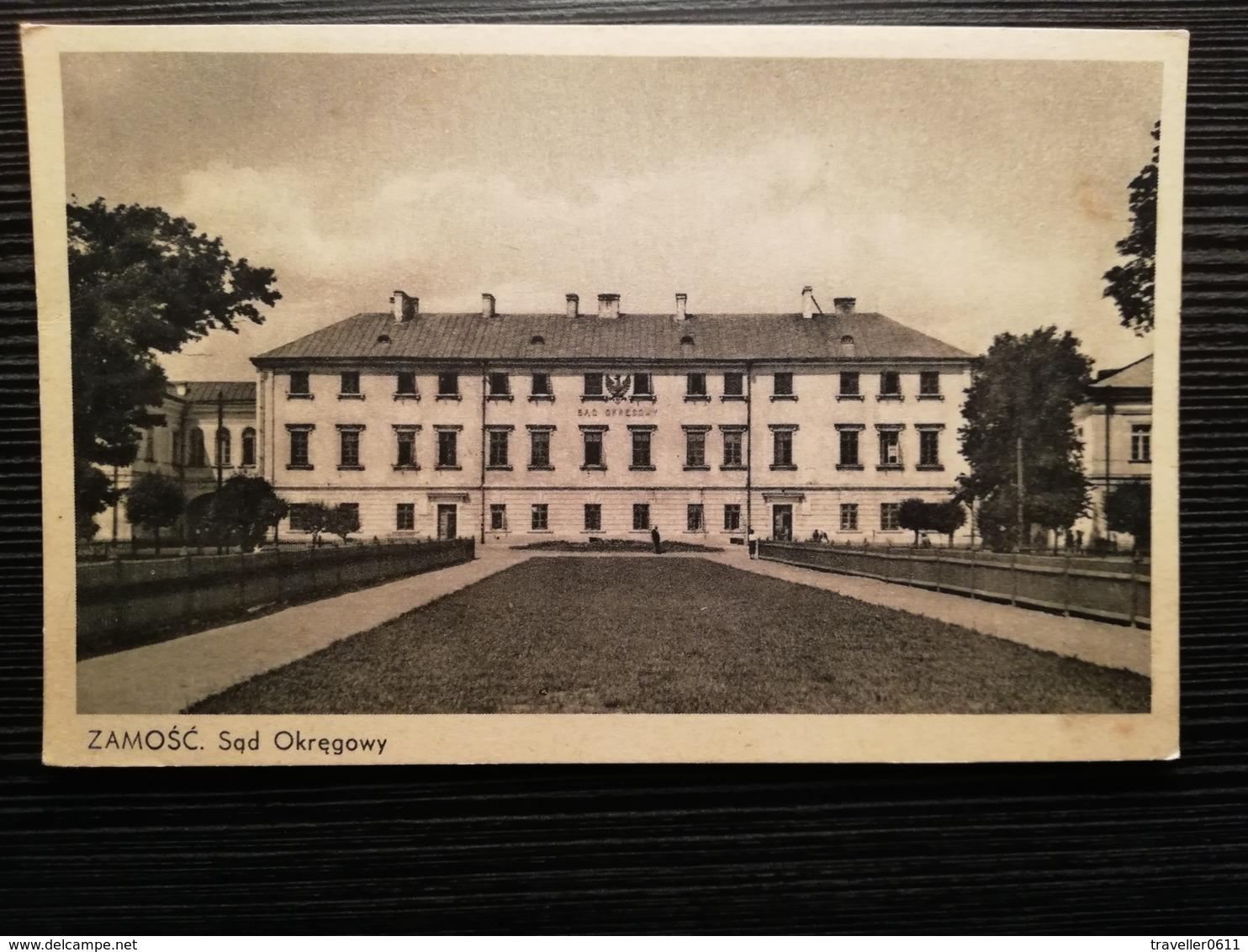 Zamosc, Sad Okregowy, Polen, Polska, 1930 - Pologne