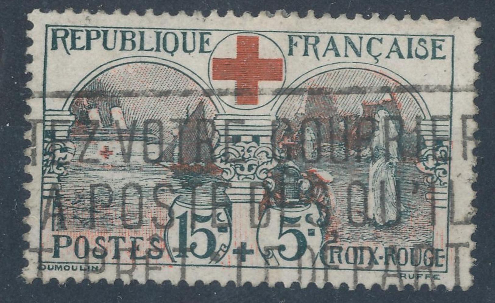 N°156 AU PROFIT DE LA CROIX ROUGE - France