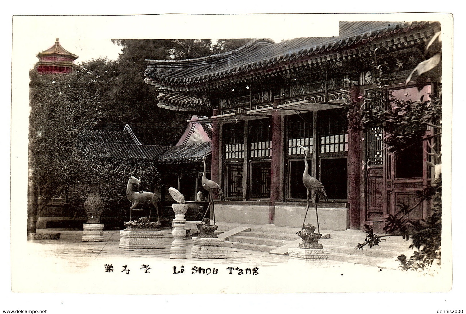 CHINE - PHOTO - Lê Shou T'ang - Chine
