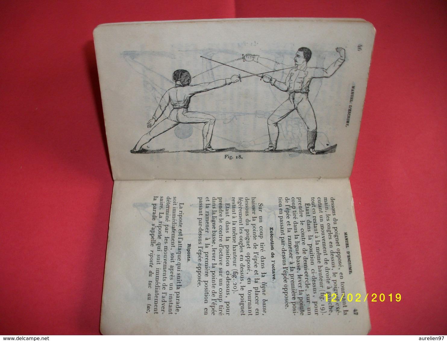 Manuel D'escrime 1897 - Fencing