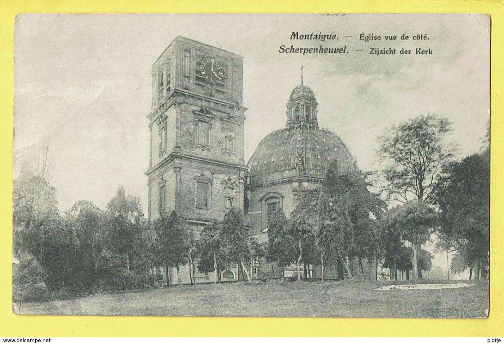 * Scherpenheuvel Zichem - Montaigu (Vlaams Brabant) * (Edit L. Collin Alost) église Vue De Coté, Zijzicht Kerk Basilique - Scherpenheuvel-Zichem