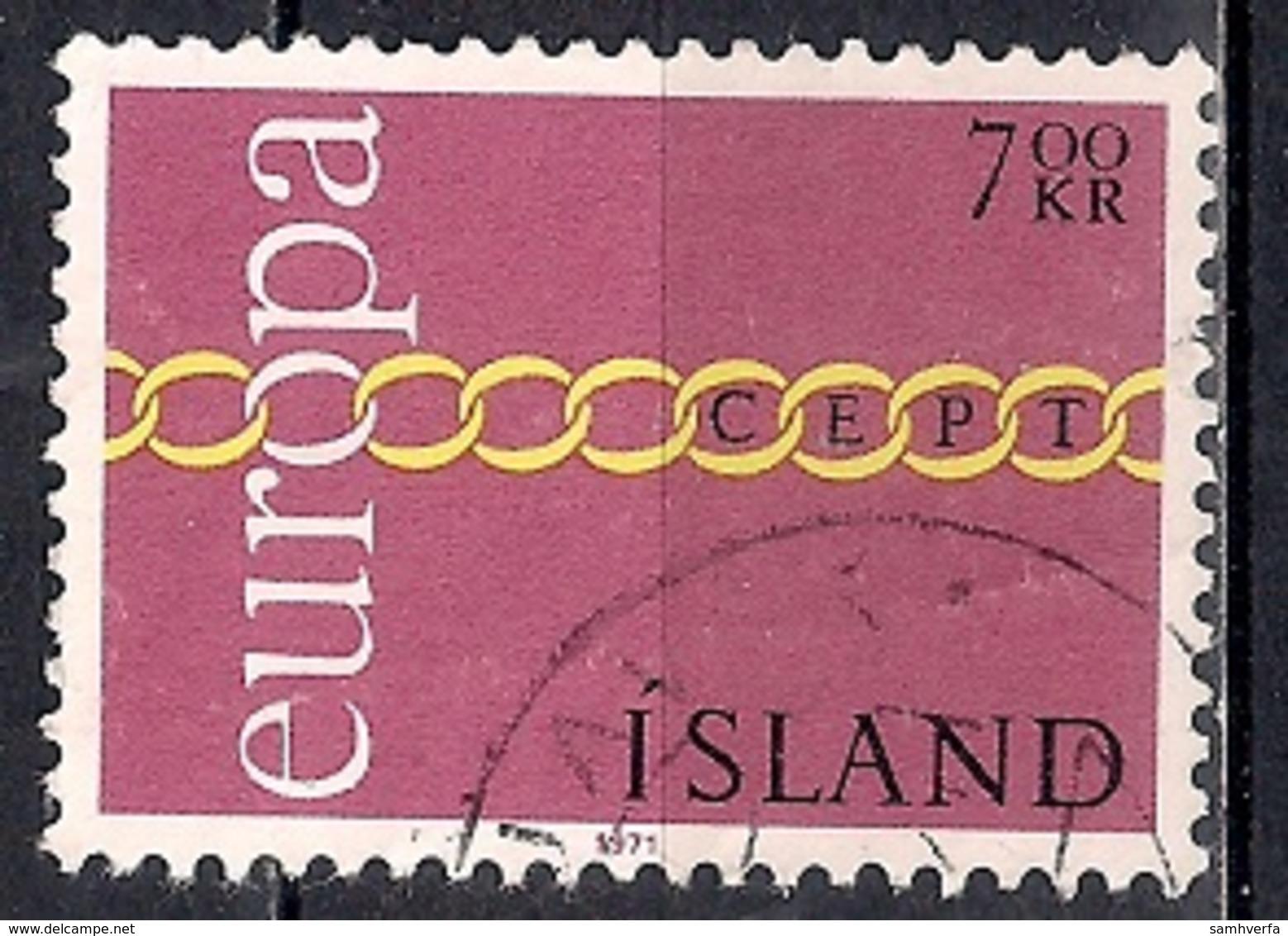 Iceland 1971 - EUROPA Stamps - 1944-... Republik