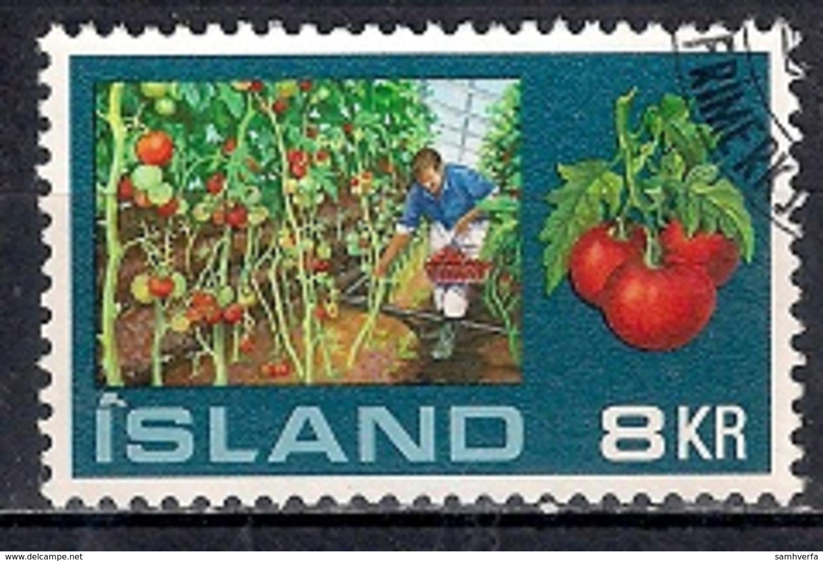 Iceland 1974 - Greenhouses - Gebraucht