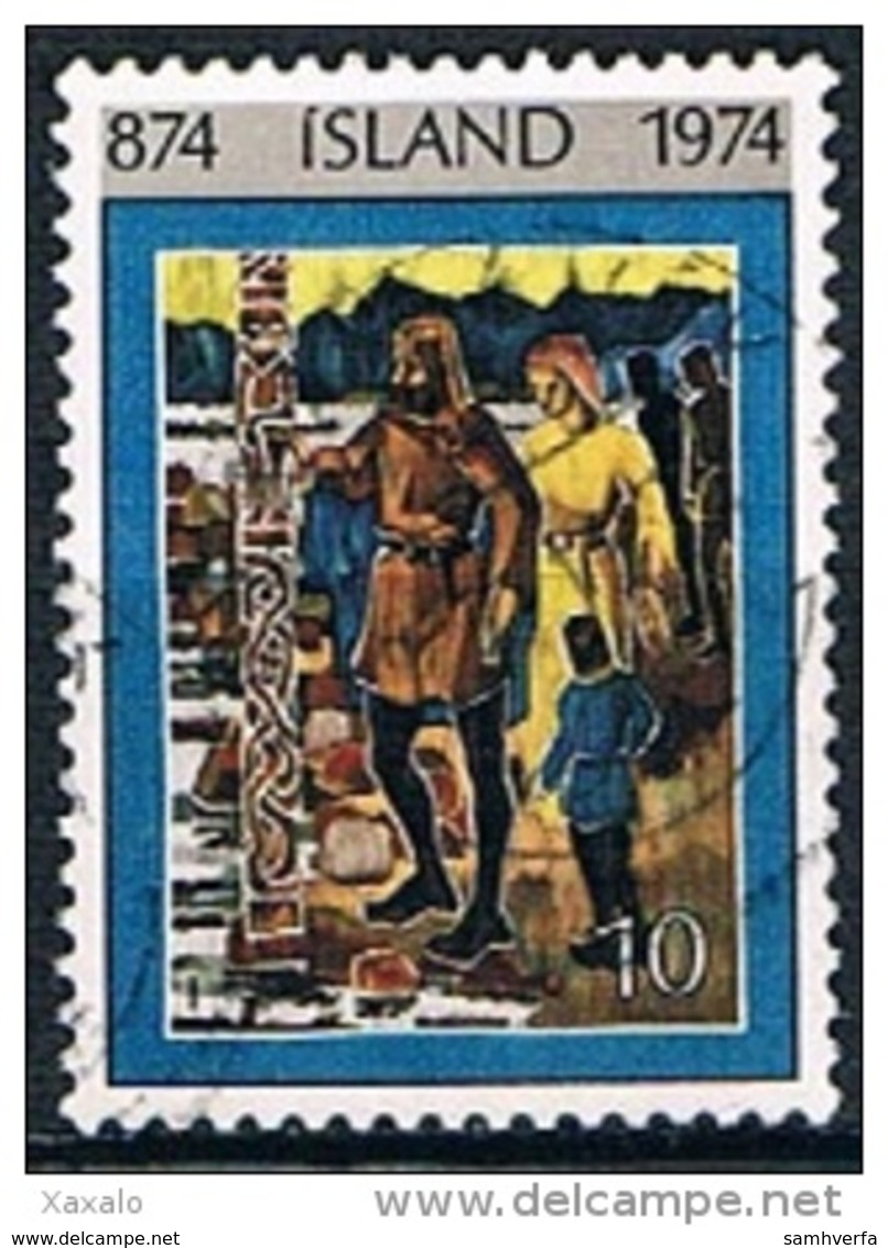 Iceland 1974 - Settlement In Iceland - 1944-... Republik