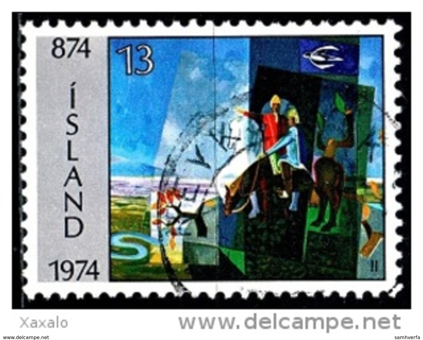Iceland 1974 The 1100th Anniversary Of Settlement In Iceland - 1944-... Republik