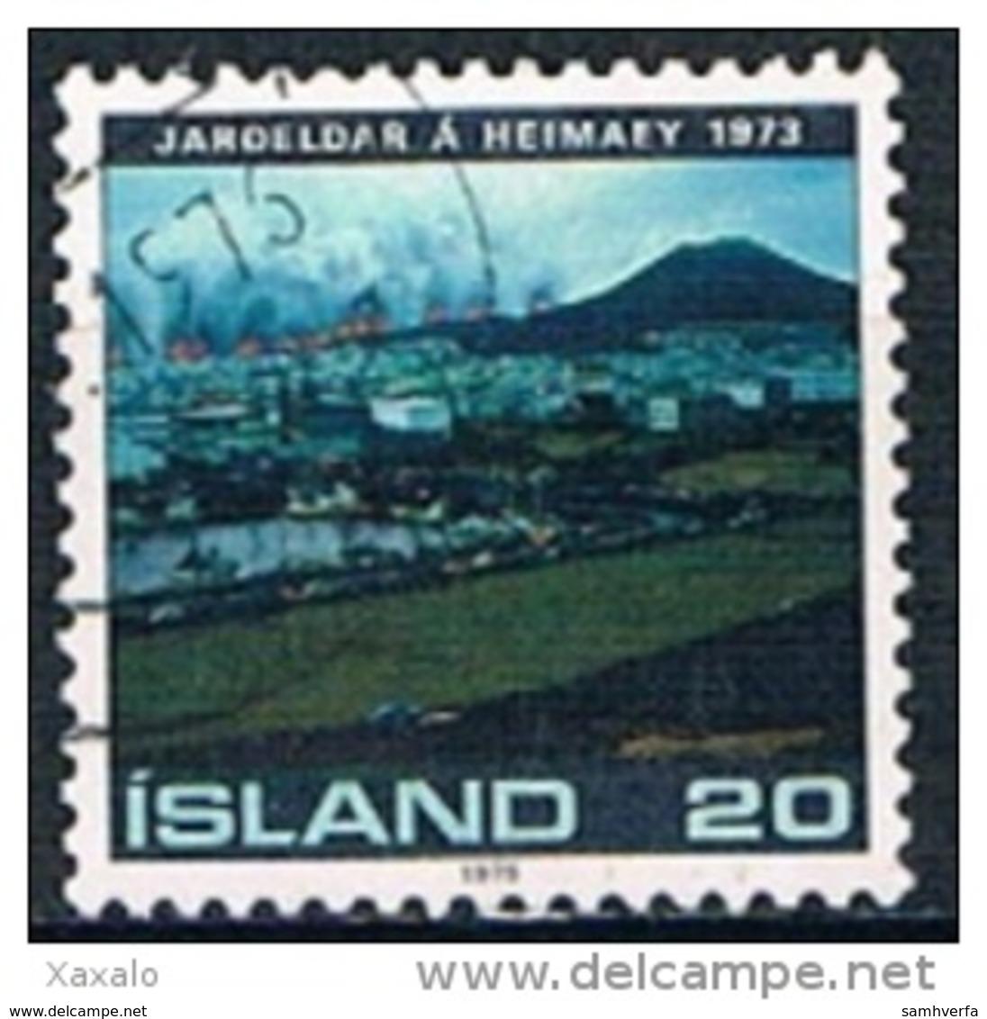 Iceland 1975 - Eruption Of Heimaey - 1944-... Republik