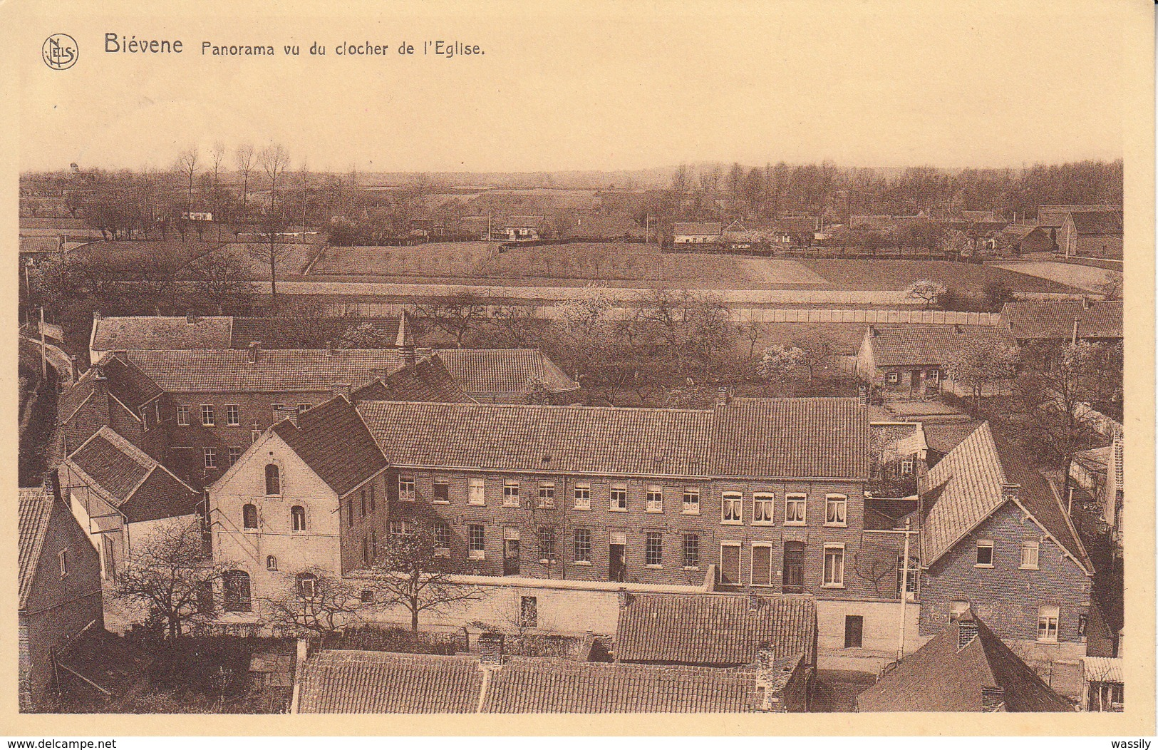Bever - Biévène - Panorama - Klooster - School - - Biévène - Bever